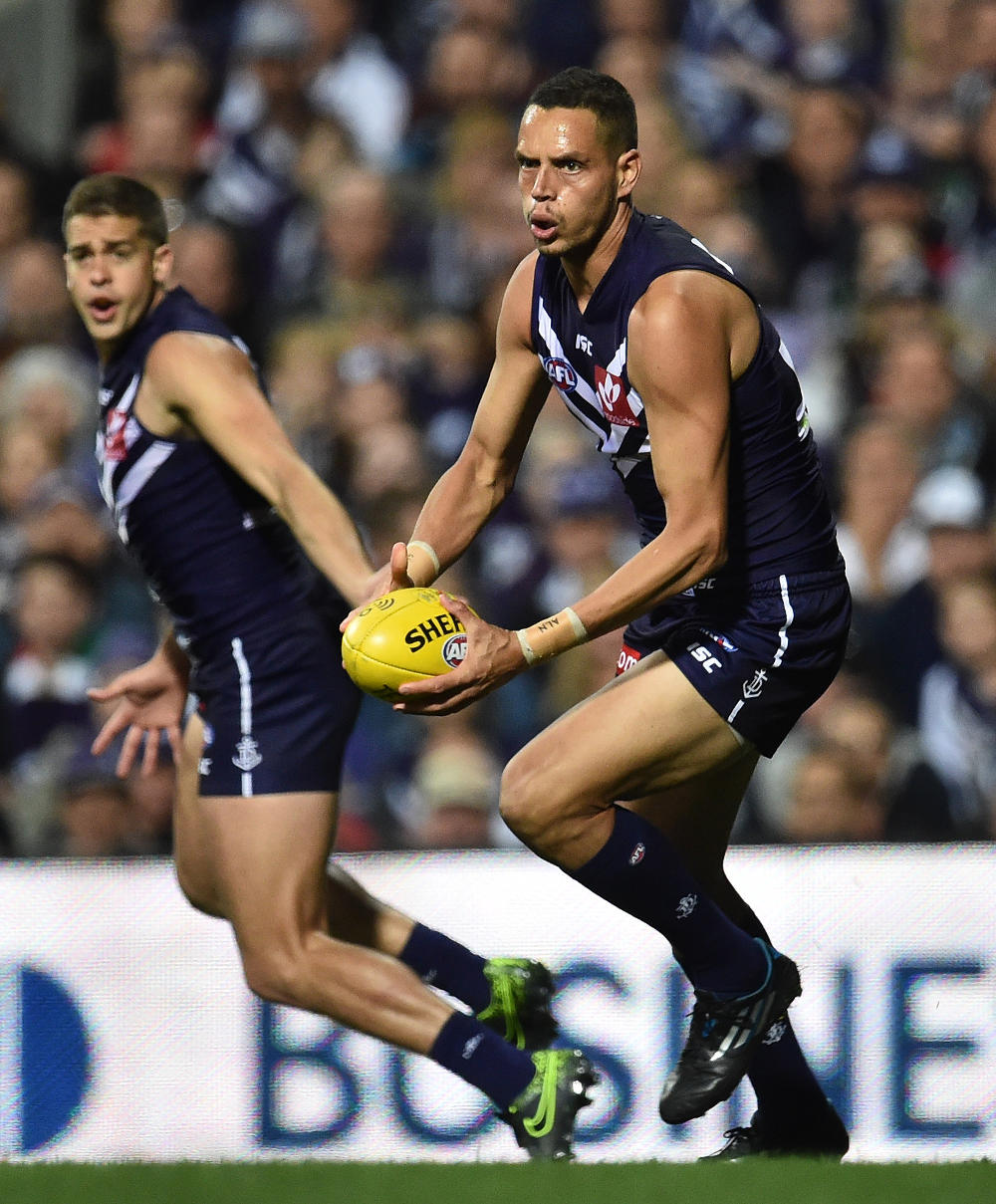 The Dockers' Michael Johnson