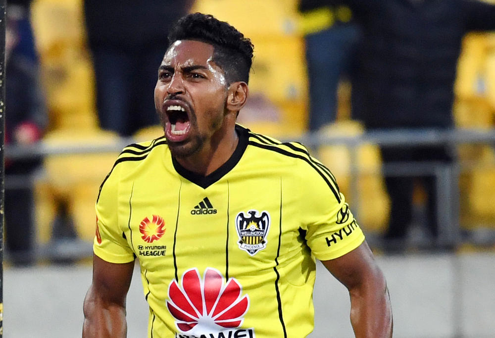 roy-krishna-wellington-phoenix-football-a-league-2016