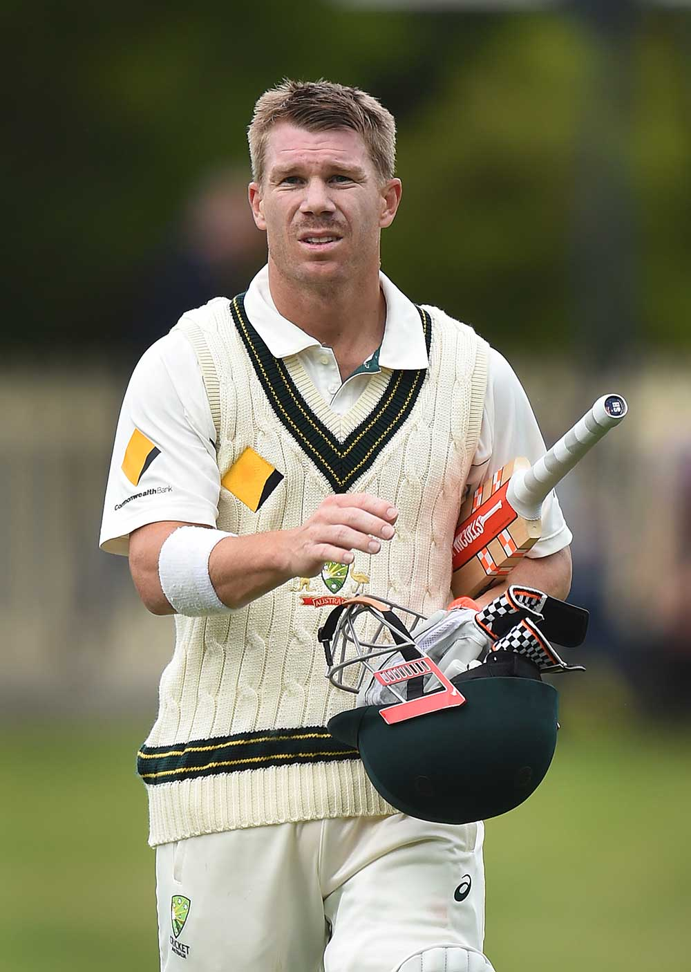 Australian batsman David Warner