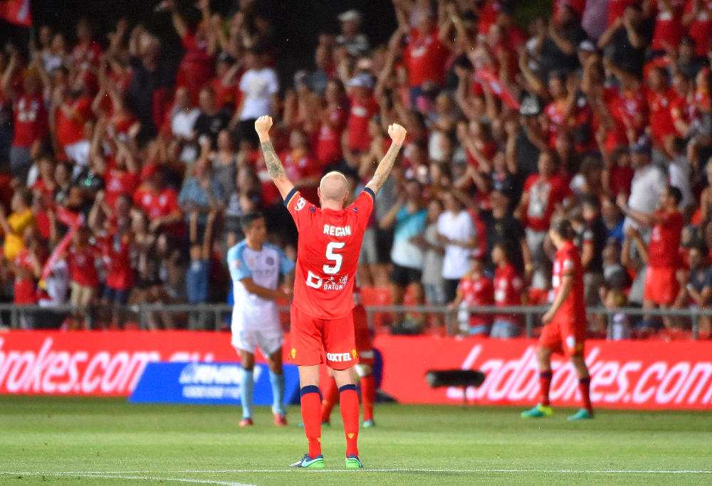 Adelaide United Picture: Highlights: Reds Stun Melbourne City 2-1