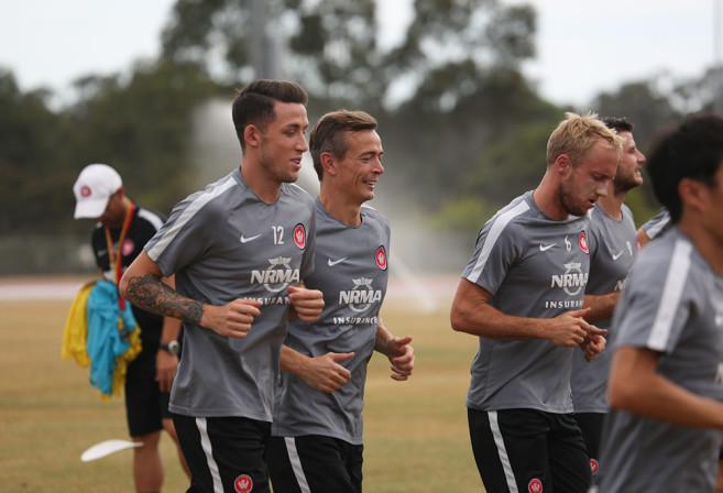 Western Sydney Wanderers training