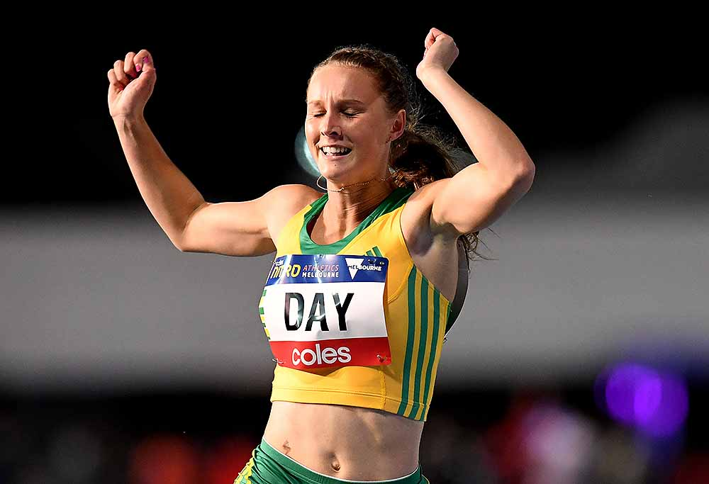 Riley Day, Australian athletics sensation