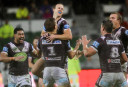 Sea Eagles stump Knights at soggy Brookvale