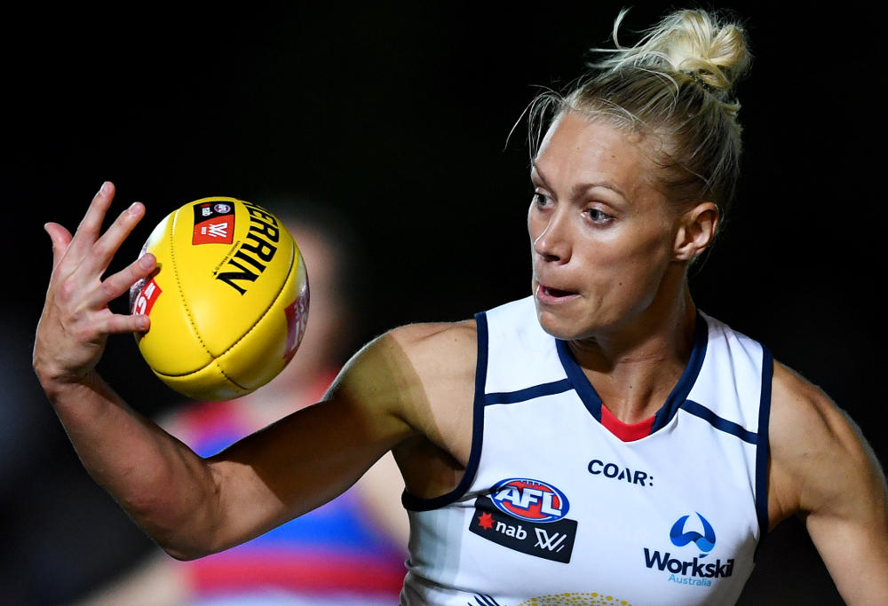 Erin Phillips Adelaide Crows AFLW 2017