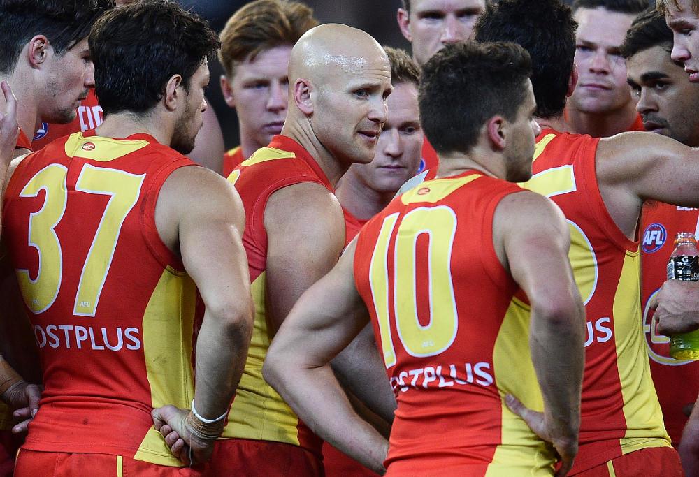 Gary Ablett Gold Coast Suns AFL 2016