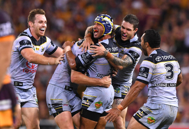 Johnathan Thurston NRL Rugby League North Queensland Cowboys 2017