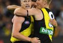 Josh Caddy Richmond Tigers 2017 AFL tall <br /> <a href='http://www.theroar.com.au/2017/03/23/hey-prestia-magic-of-new-recruits-helps-tigers-to-a-win/'>Highlights: Hey Prestia! Martin magic wins it for Richmond</a>