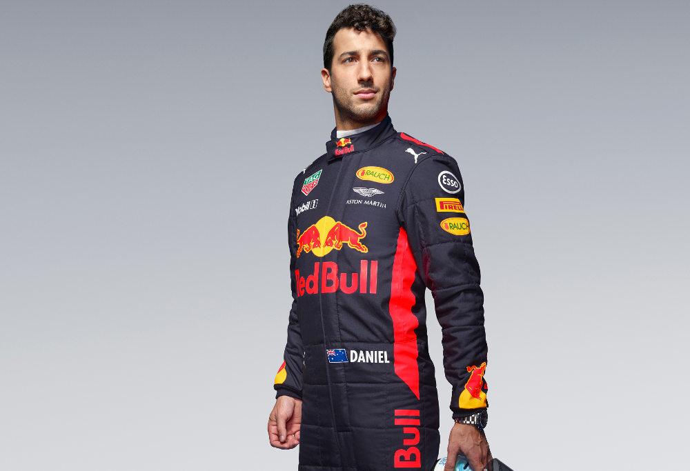 Daniel Ricciardo for Red Bull