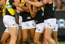 Toby Nankervis Richmond Tigers AFL 2017 tall <br /> <a href='http://www.theroar.com.au/2017/03/23/hey-prestia-magic-of-new-recruits-helps-tigers-to-a-win/'>Highlights: Hey Prestia! Martin magic wins it for Richmond</a>