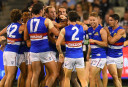 Kangaroos slump to fourth straight loss against Bulldogs