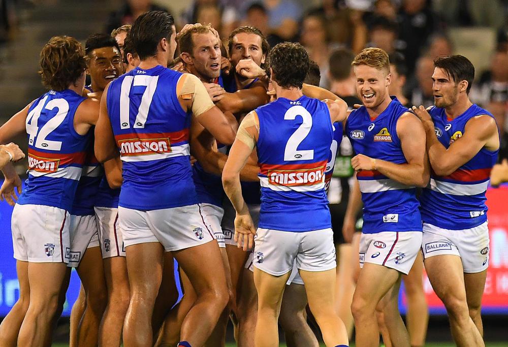 Travis Cloke Western Bulldogs AFL 2017