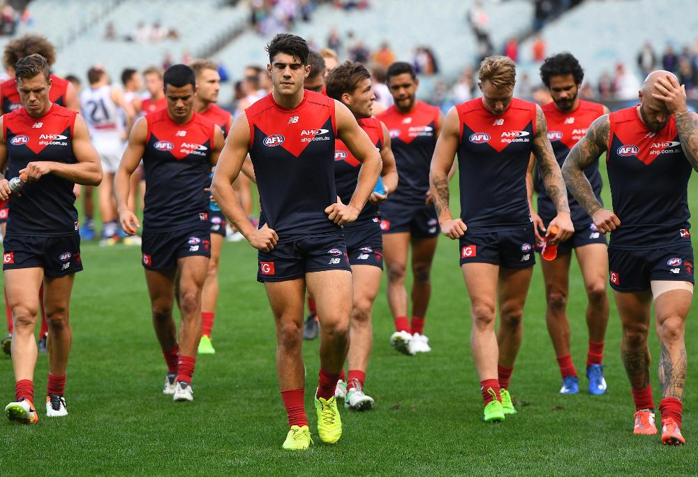 Christian Petracca Melbourne Demons AFL 2017