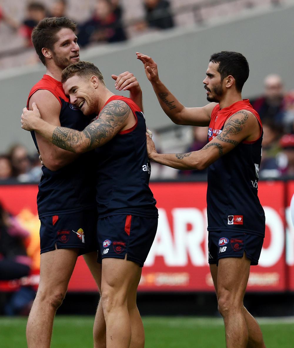 Jesse Hogan Melbourne Demons AFL 2016 tall
