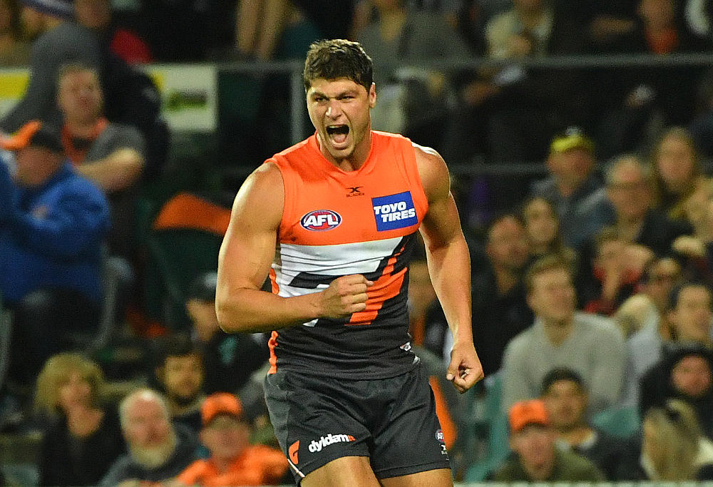 Jonathan Patton GWS Giants AFL 2017