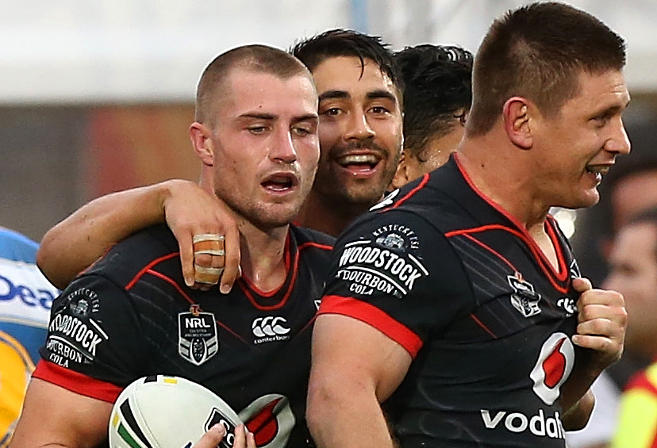Kieran Foran New Zealand Warriors NRL Rugby League 2017