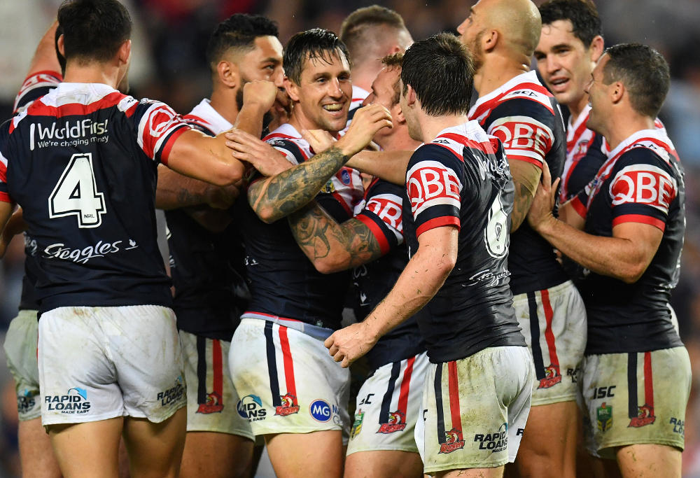 Mitchell Pearce Sydney Roosters NRL Rugby League 2017