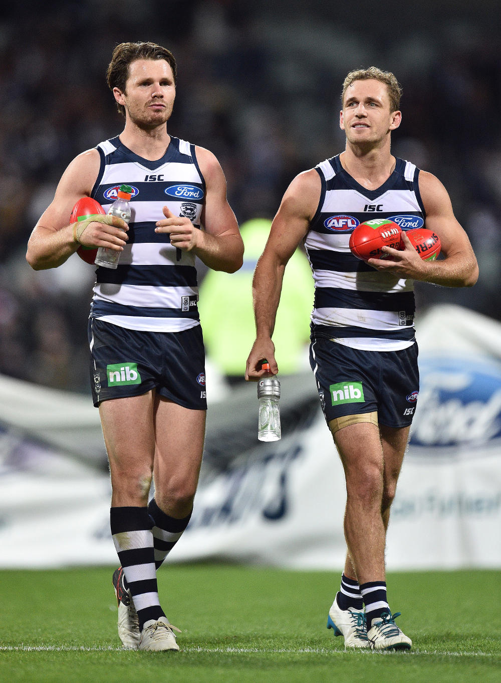 Patrick Dangerfield Joel Selwood Geelong Cats AFL 2016 tall