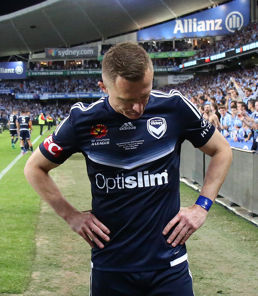 Besart Berisha Melbourne Victory A-League Grand Final 2017 tall