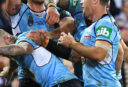 Boyd Cordner NSW Blues State of Origin NRL Rugby League 2017 tall <br /> <a href='http://www.theroar.com.au/2017/06/01/blues-deliver-exciting-origin-game-years/'>Blues deliver the most exciting Origin game in years</a>