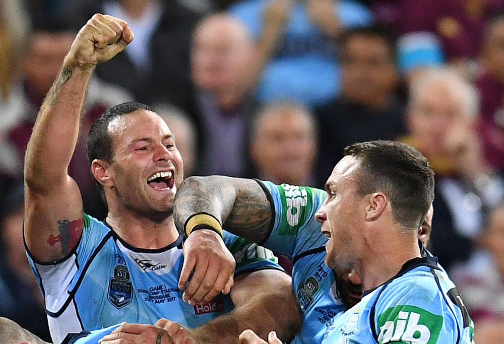 Boyd Cordner NSW Blues State of Origin NRL Rugby League 2017