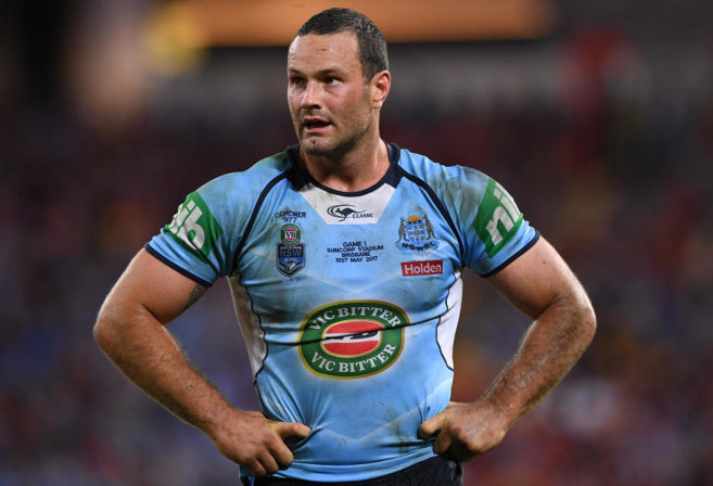 Boyd Cordner State of Origin NSW Blues NRL Rugby League 2017
