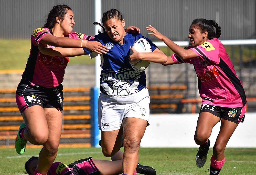 Junior women's rugby league