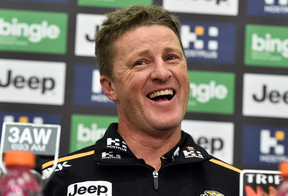 Damien Hardwick Richmond Tigers AFL 2017
