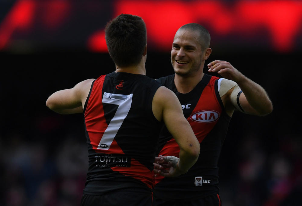 David Zaharakis Essendon Bombers AFL 2017