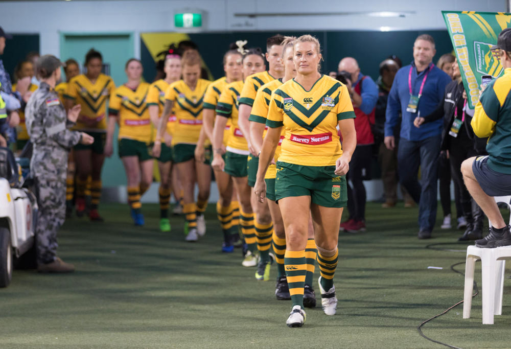 Jillaroos Rugby League 2017
