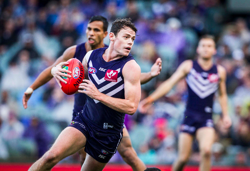 Lachie Neale Fremantle Dockers AFL 2017