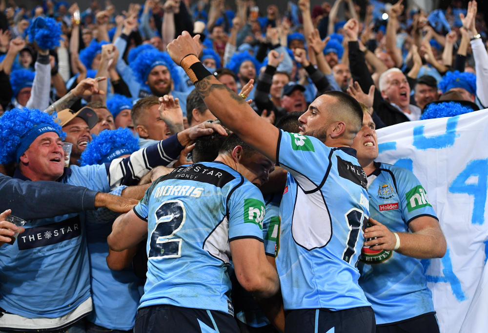 NSW Blues State of Origin NRL Rugby League 2017