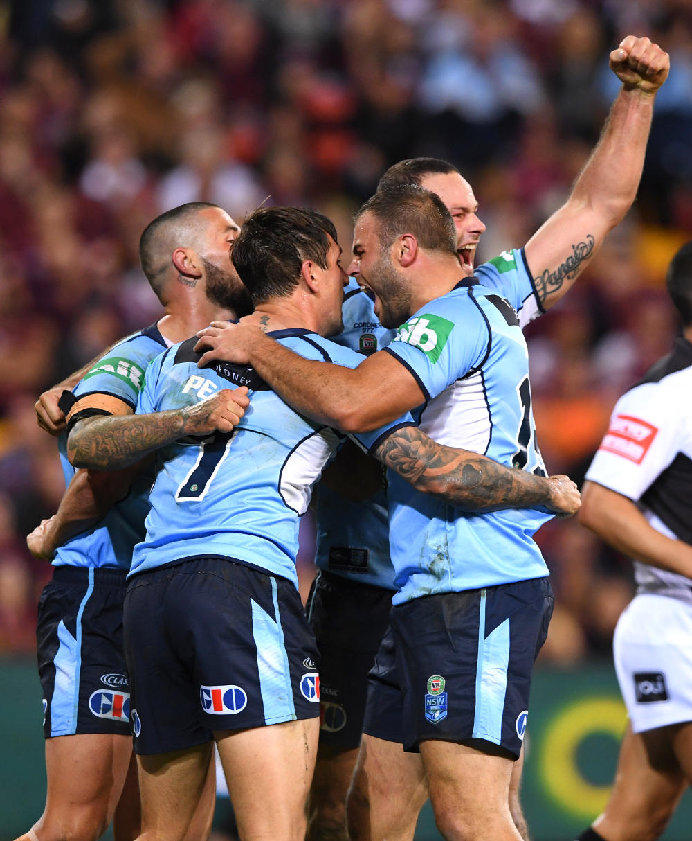Queensland seals an astonishing come from behind win over NSW