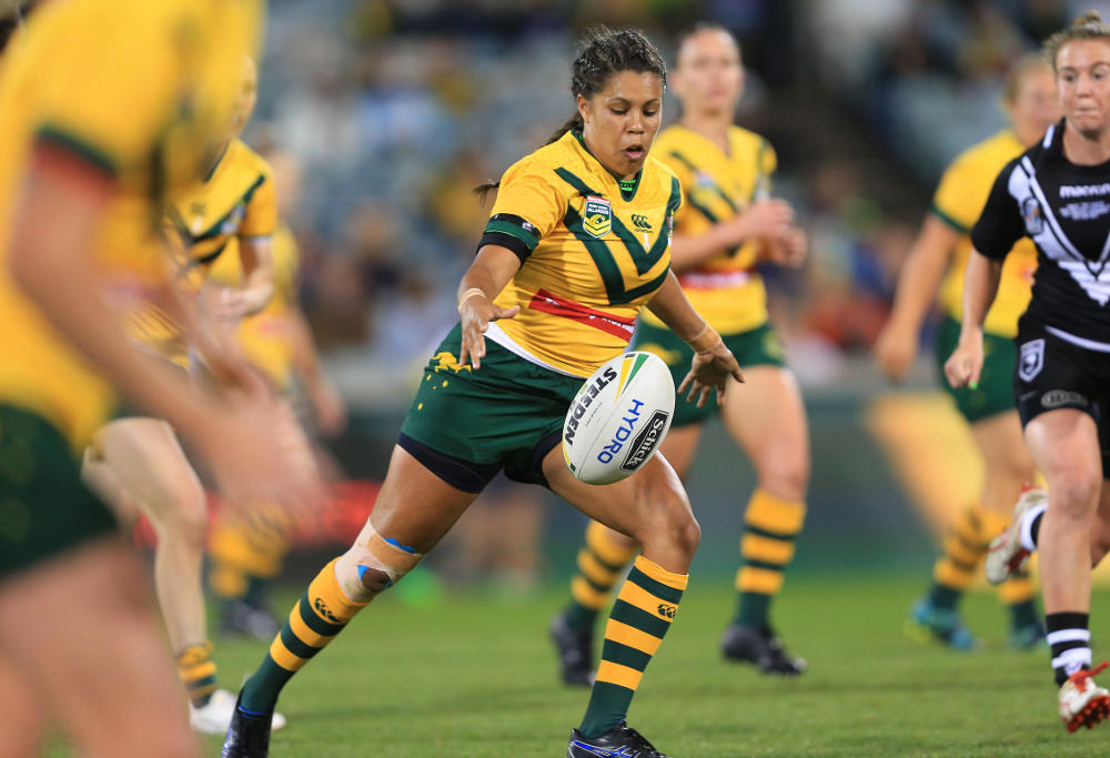 Simone Smith Australia Jillaroos Rugby League Anzac Test 2017