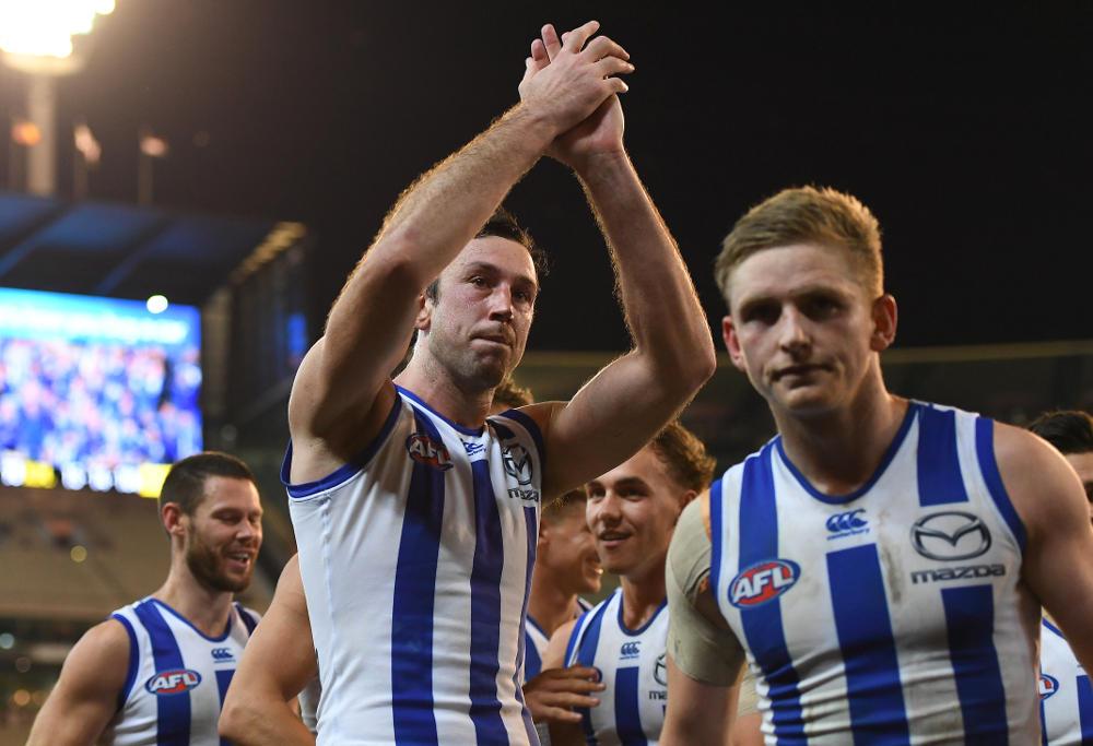 Todd Goldstein North Melbourne Kangaroos AFL 2017