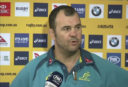Michael Cheika <br /> <a href='http://www.theroar.com.au/2017/06/19/watch-wallabies-coach-michael-cheika-fires-back-journalist/'>WATCH: Wallabies coach Michael Cheika fires back at journalist</a>