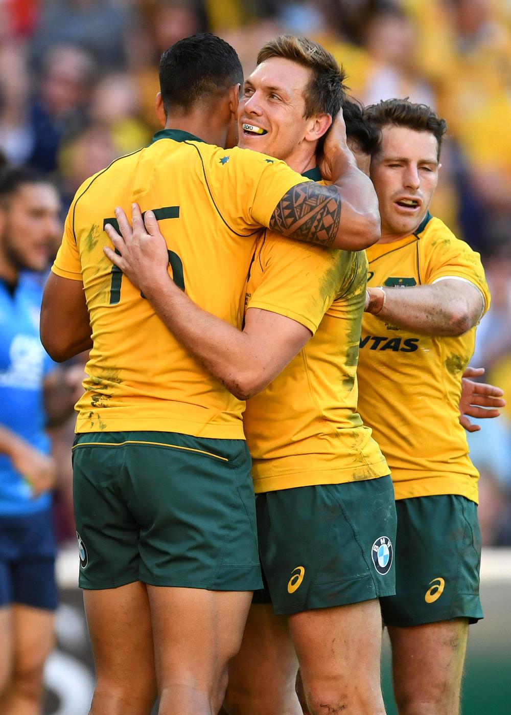 Dane Haylett-Petty Wallabies Australia Rugby Union 2017 tall