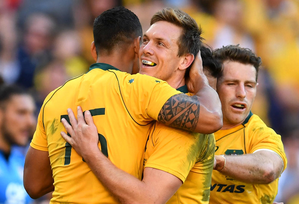 Dane Haylett-Petty Wallabies Australia Rugby Union 2017