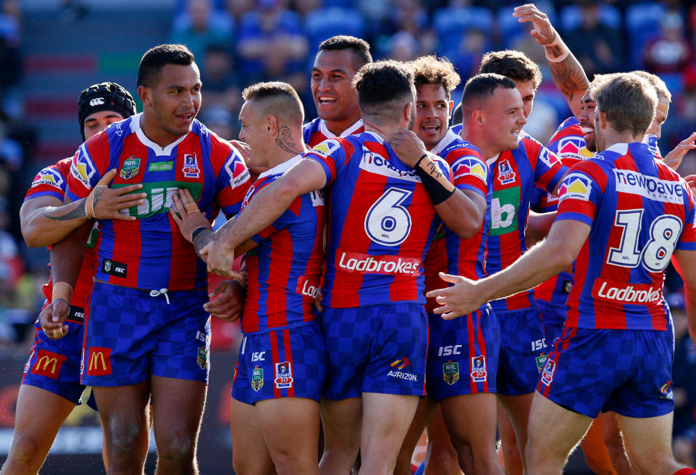 Daniel Saifiti Newcastle Knights NRL Rugby League 2017