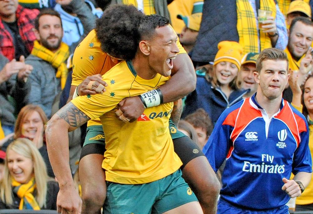 Israel Folau Wallabies Australian Rugby Union 2017