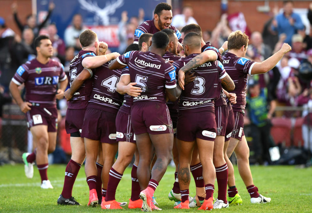 Manly Sea Eagles NRL Rugby League 2017
