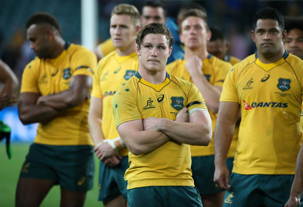 Michael Hooper Wallabies Australia Rugby Union 2017