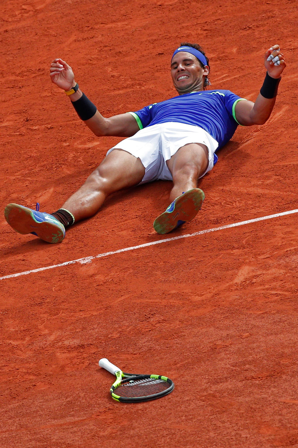 Rafael Nadal French Open 2017 Tennis tall