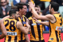 Hawthorn Hawks vs Gold Coast Suns Highlights: AFL live scores, blog