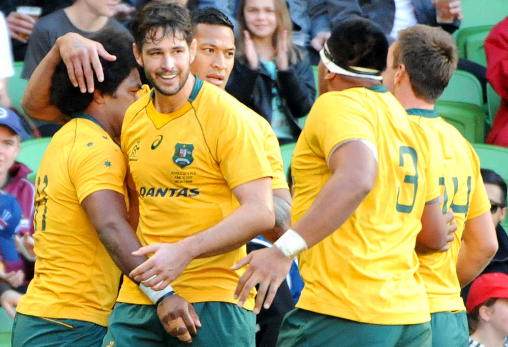 Wallaby Folau back to basics in Test win