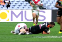 WATCH: Dragons vs Wests Tigers: James Tedesco's run ended by desperate Josh Dugan