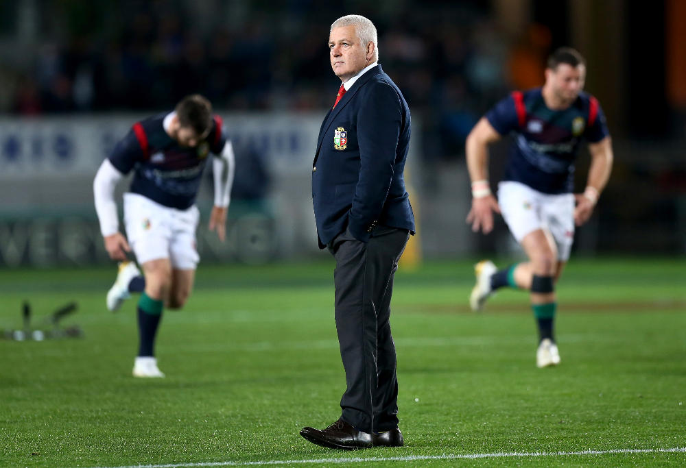 Warren Gatland British and Irish Lions Rugby Union 2017