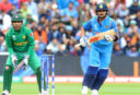 Virat Kohli runs between the wickets vs Pakistan