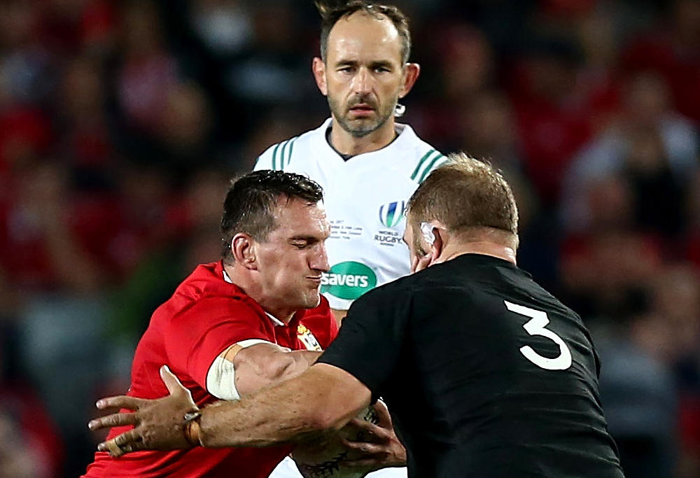 Lions prop arrested after third Test in NZ