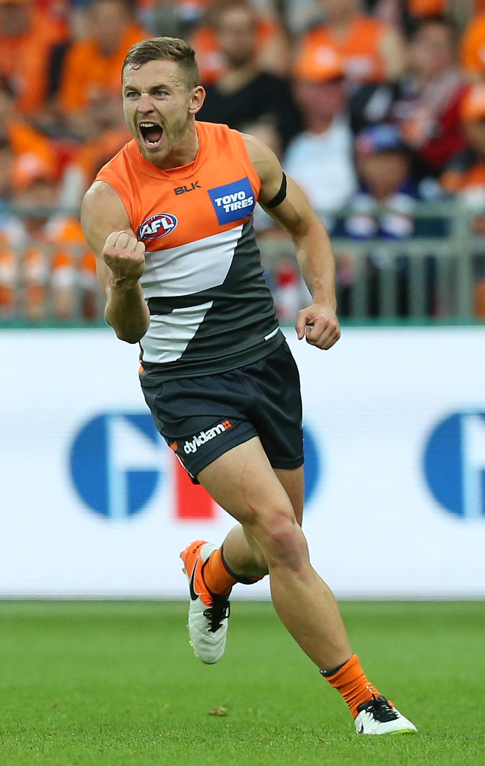 Devon Smith GWS Giants AFL 2017 tall