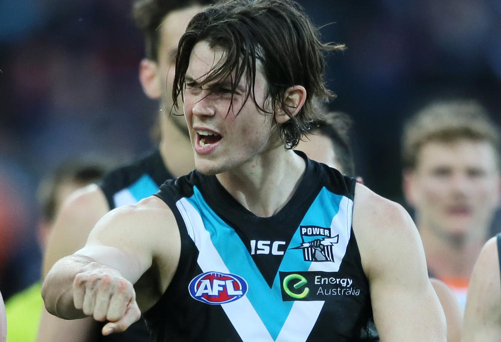 Jasper Pittard Port Adelaide Power AFL 2015